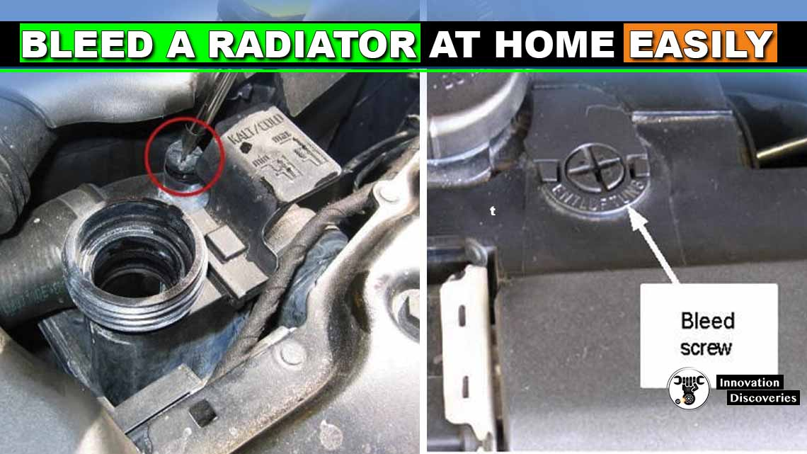 Bleed A Radiator At Home Easily