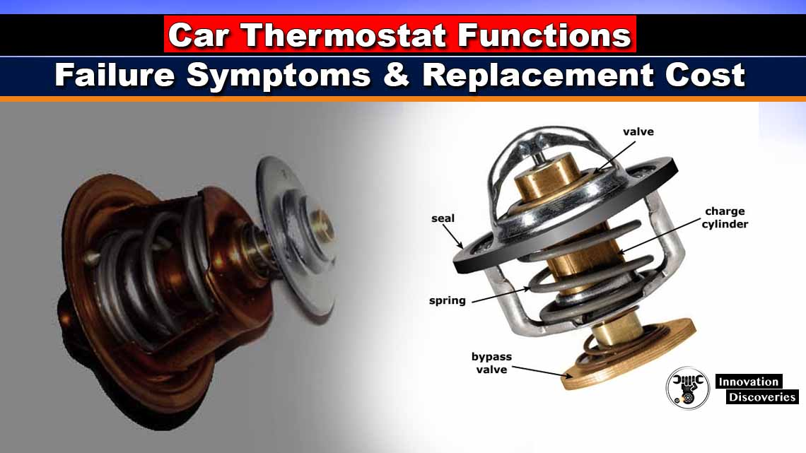 Car Thermostat Functions, Failure Symptoms, and Replacement Cost