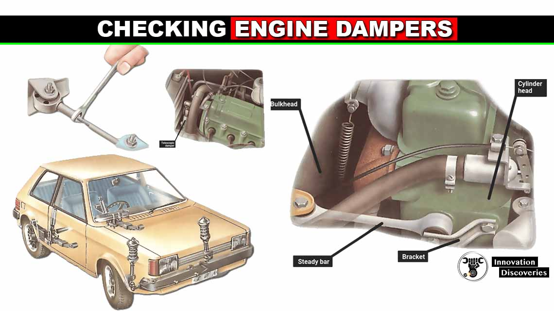 Checking engine dampers