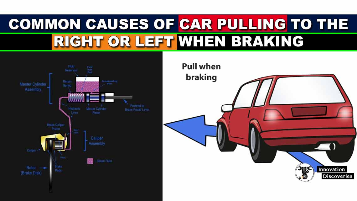 Common Causes of Car Pulling to the Right or Left When Braking