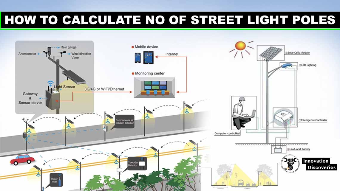 How To Calculate No Of Street Light Poles