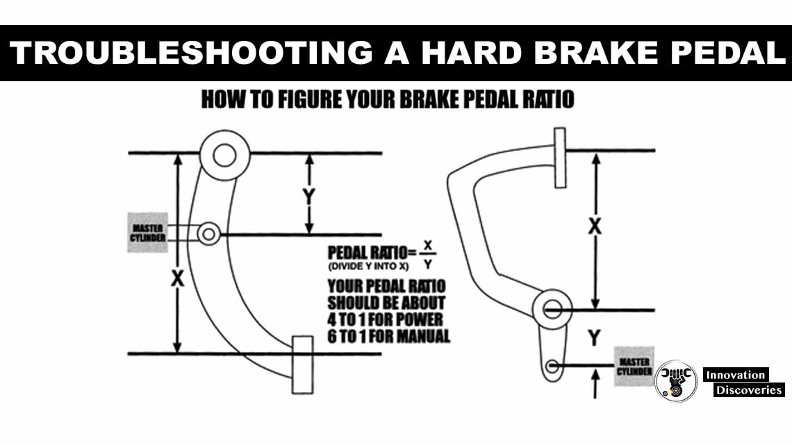 TROUBLESHOOTING A HARD BRAKE PEDAL