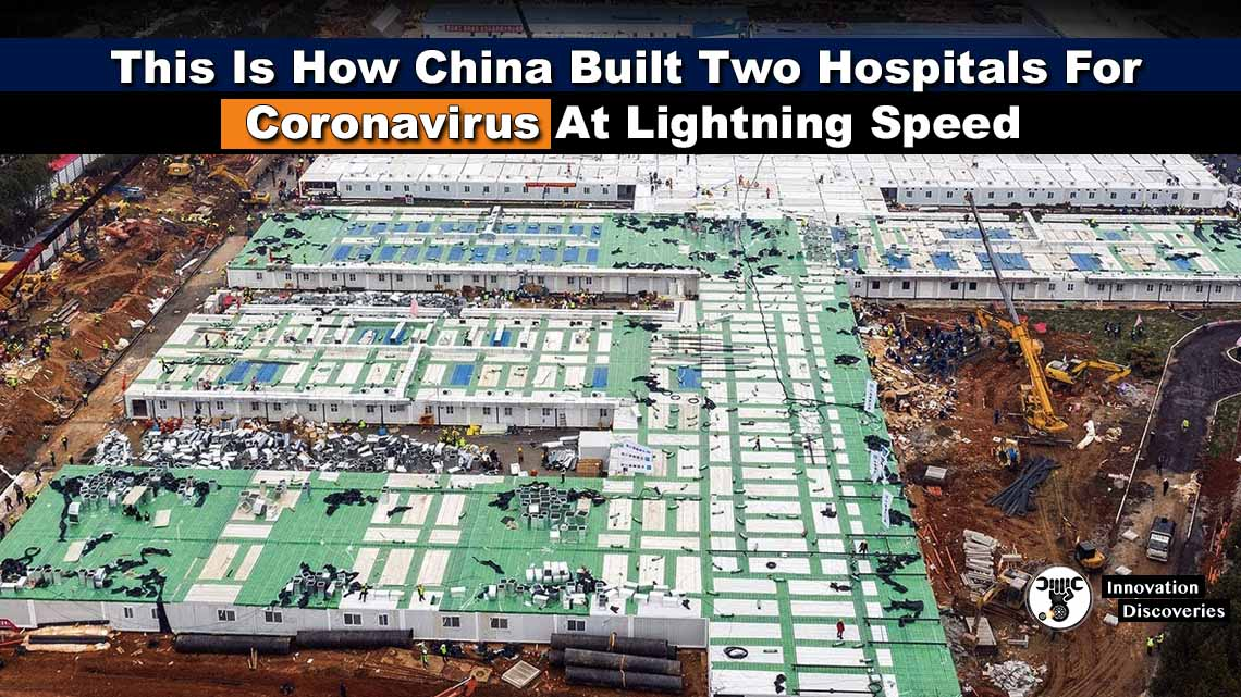 This Is How China Built Two Hospitals For Coronavirus At Lightning Speed