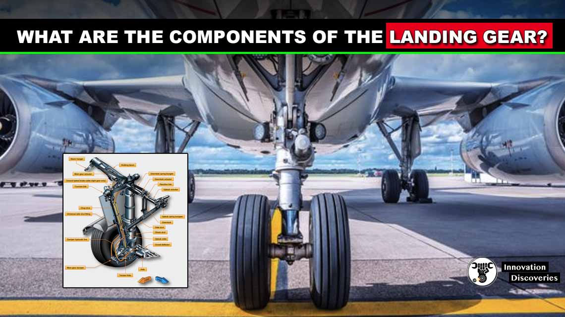 What are the components of the landing gear?