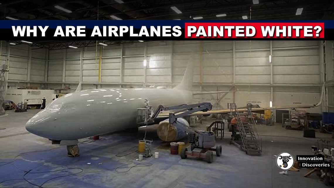 Why are airplanes painted white?