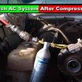 How To Flush AC System After Compressor Failure?
