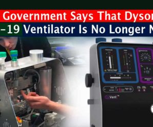 UK Government Says That Dyson's COVID-19 Ventilator Is No Longer Needed