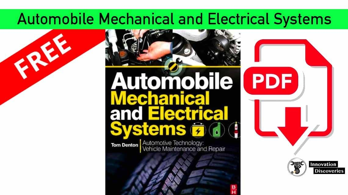 Automobile Mechanical and Electrical Systems  | PDF | Innovation Discoveries