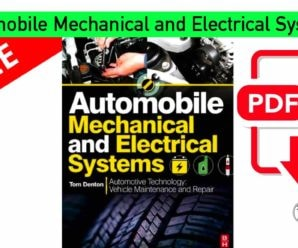 Automobile Mechanical and Electrical Systems  | PDF