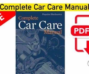 Mike Bumbeck Complete Car Repair Manual | PDF