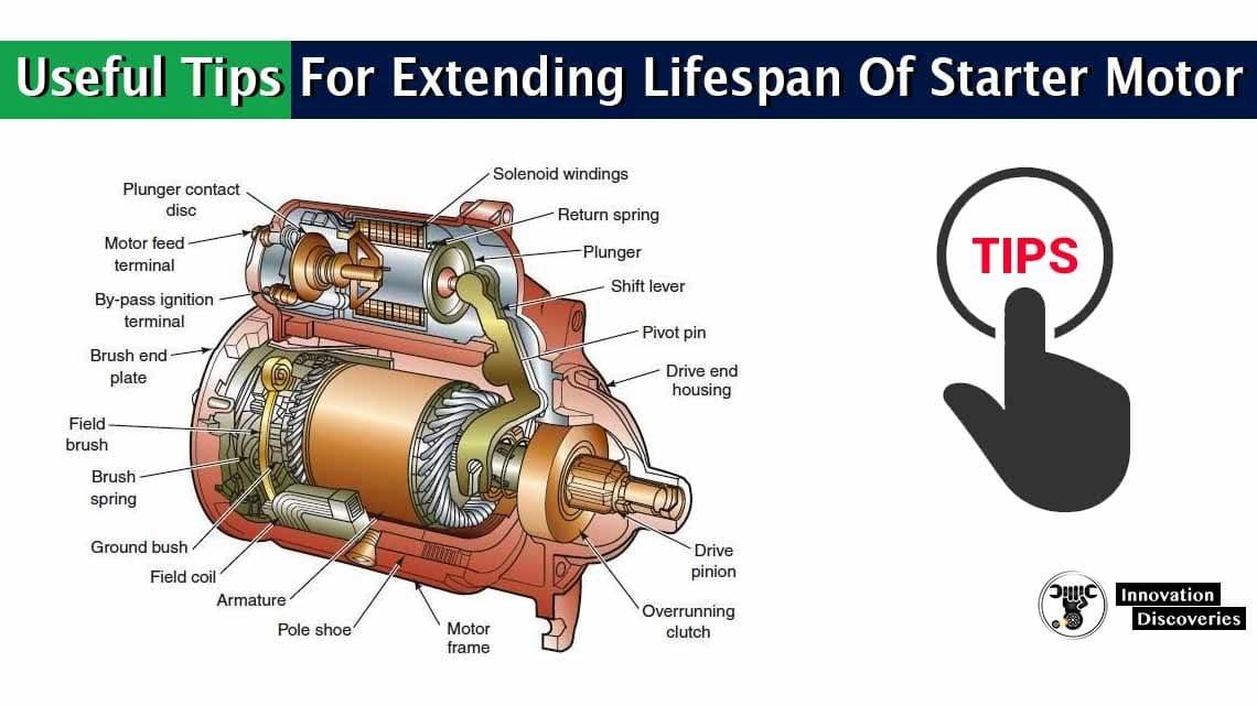 Useful Tips For Extending Lifespan Of Starter Motor