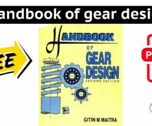 Handbook of gear design | PDF