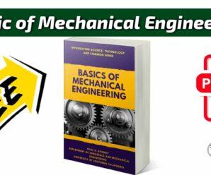 Basic of Mechanical Engineering