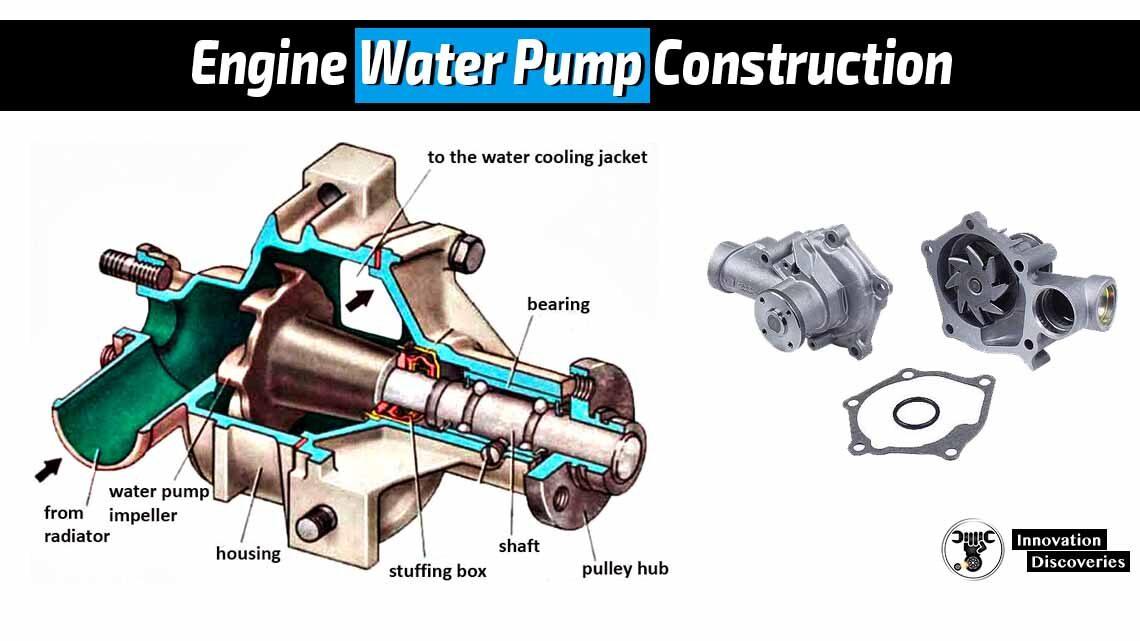 Engine Water Pump Construction