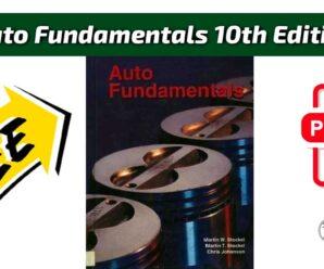 Auto Fundamentals 10th Edition