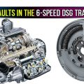 Common Faults in the 6-Speed DSG Transmission
