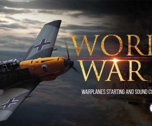 World War II Warplanes Starting and Sound Compilation