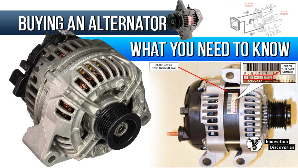 Buying an Alternator – What you need to know