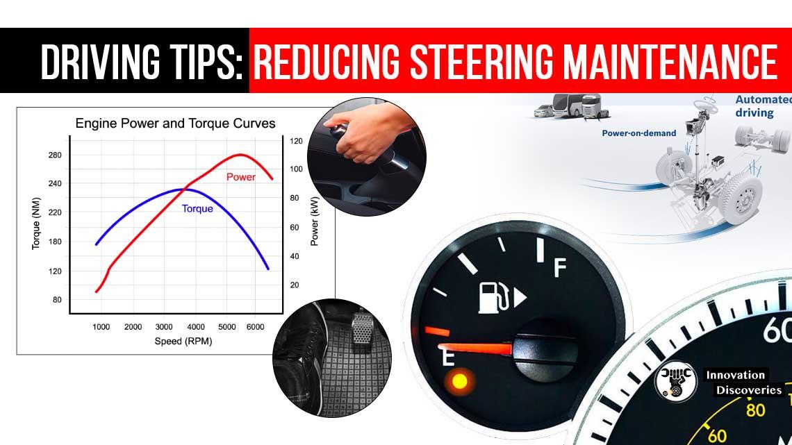 DRIVING TIPS: REDUCING STEERING MAINTENANCE