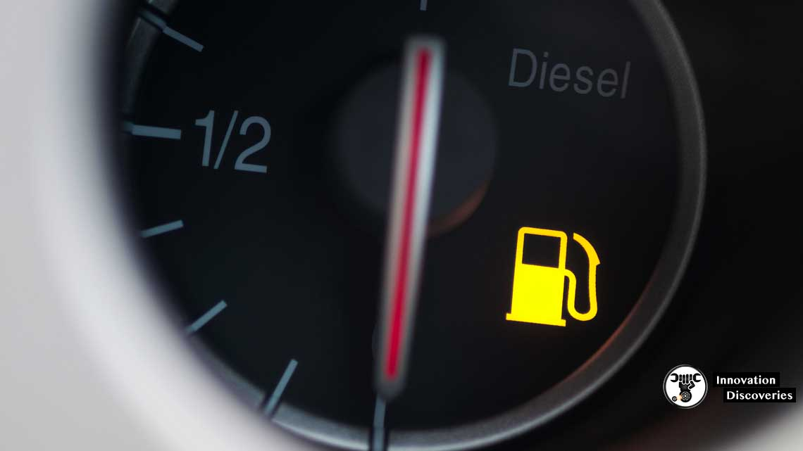 Driving with the fuel light on