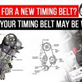 Is It Time For a New Timing Belt? Signs your timing belt may be worn out