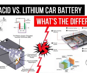 Lead Acid vs. Lithium Car Battery: What's the Difference?