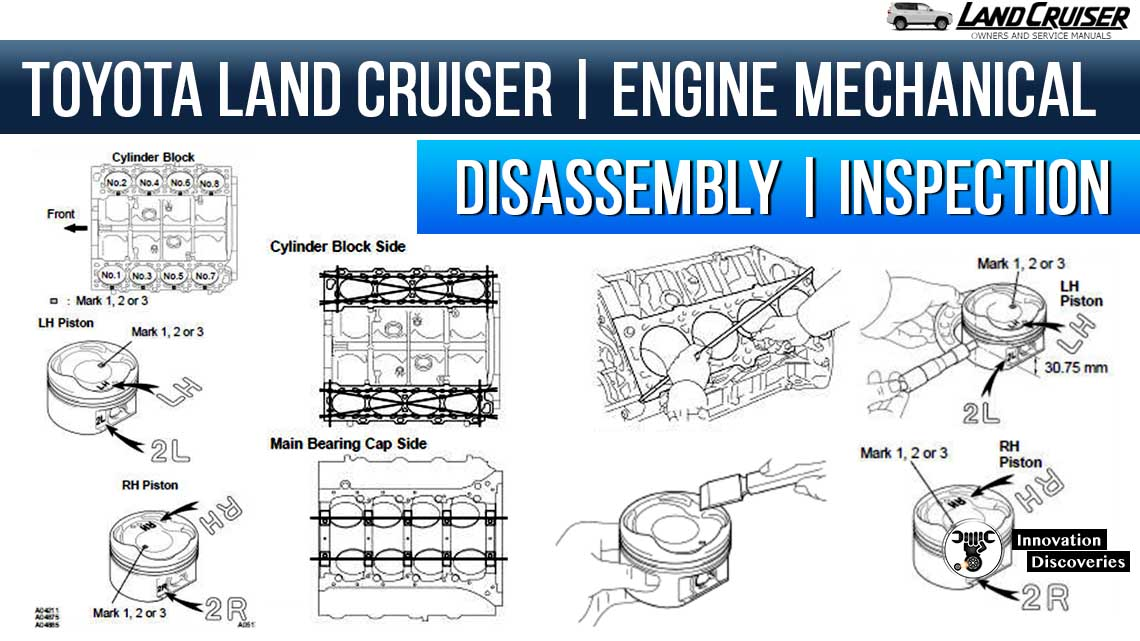 TOYOTA LAND CRUISER |ENGINE MECHANICAL | DISASSEMBLY | INSPECTION