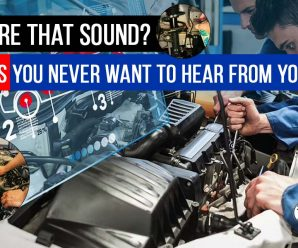 What're That Sound? 5 Noises You Never Want To Hear From Your Car