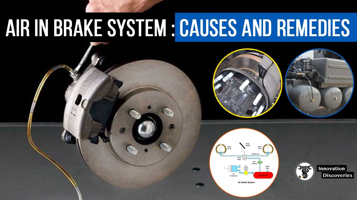 Air in Brake System – Causes and Remedies
