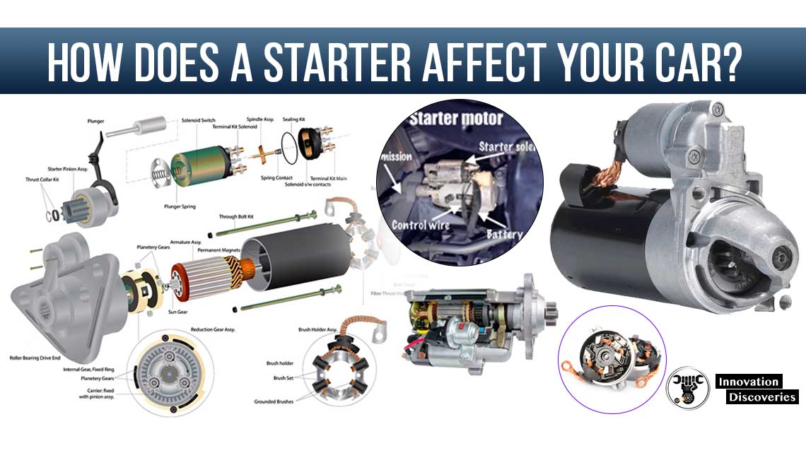How does a starter affect your car?