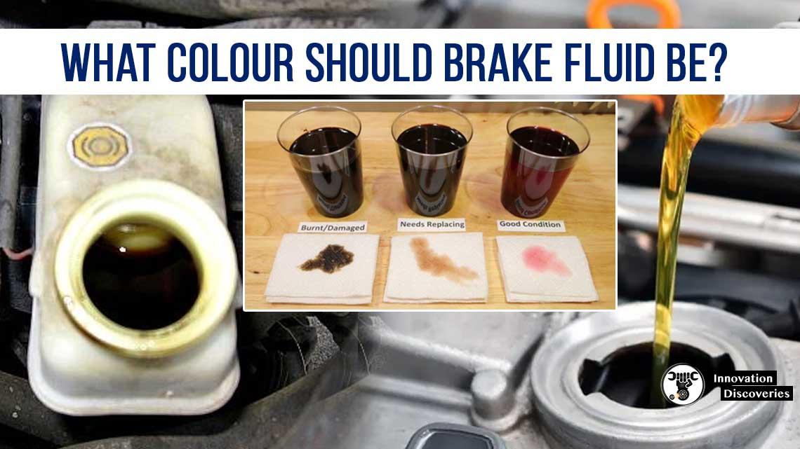 What Colour Should Brake Fluid Be?