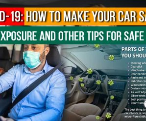 COVID-19: How to make your car safe after exposure and other tips for safe travel