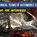 LEARN TECHNICAL TERMS OF AUTOMOBILE ENGINEERING