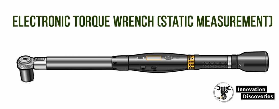 Electronic torque wrench (static measurement)
