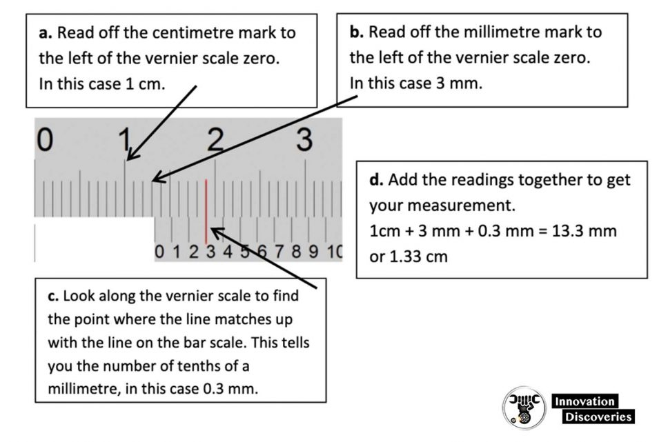 How to use Vernier Calipers