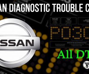 Nissan Diagnostic Trouble Codes