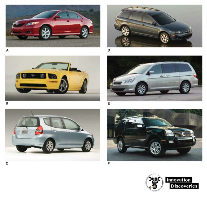 Note the various vehicle body styles.