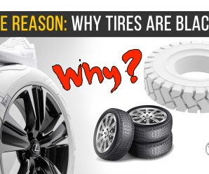 THE REASON: WHY TIRES ARE BLACK?