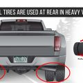 WHY DUAL TIRES ARE USED AT REAR IN HEAVY VEHICLES?