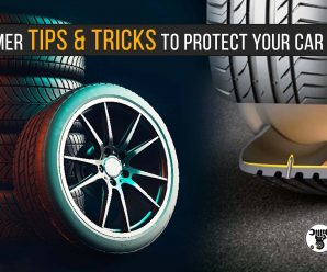 Summer TIPS & TRICKS to protect your car tires