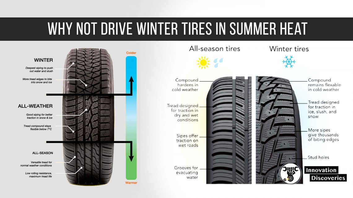 Why Not Drive Winter Tires In Summer Heat