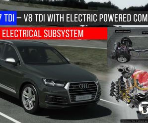 Audi SQ7 TDI – V8 TDI with electric powered compressor and 48-volt electrical subsystem