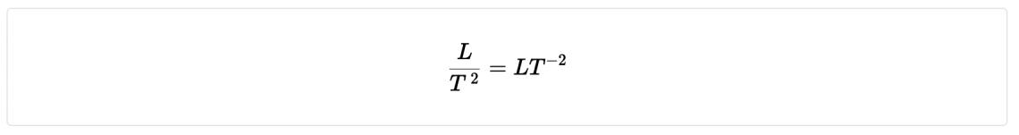 Acceleration ( units m/s2)