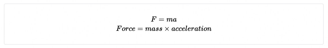 When it comes to equations the dimensions of the equation must be the same on both sides.